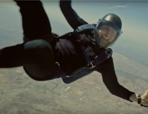 Why I Went Skydiving, An Amazing Display of Strength